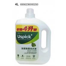 悠选深度除菌洗衣液4L促销装