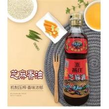 燕庄芝麻香油400ml