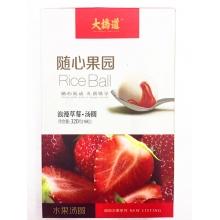 大桥道随心果园浪漫草莓/柔情蓝莓/醇郁榴莲/幕恋车厘子汤圆320g