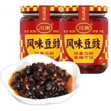 川南210g下饭风味豆豉