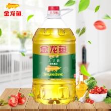 金龙鱼精炼一级大豆油5L非转基因