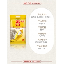 香满园御品国珍稻香米10KG